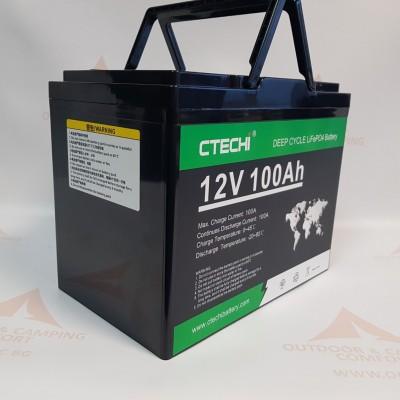 LiFePO4 Литиев-желязо-фосфатен акумулатор 12V 100Ah