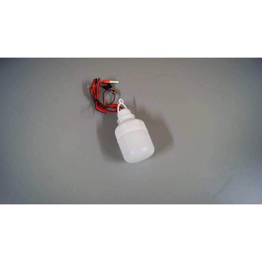 LED крушка 12-85V 9W с щипки