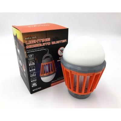 Преносим къмпинг фенер с UV електрически убиец на комари