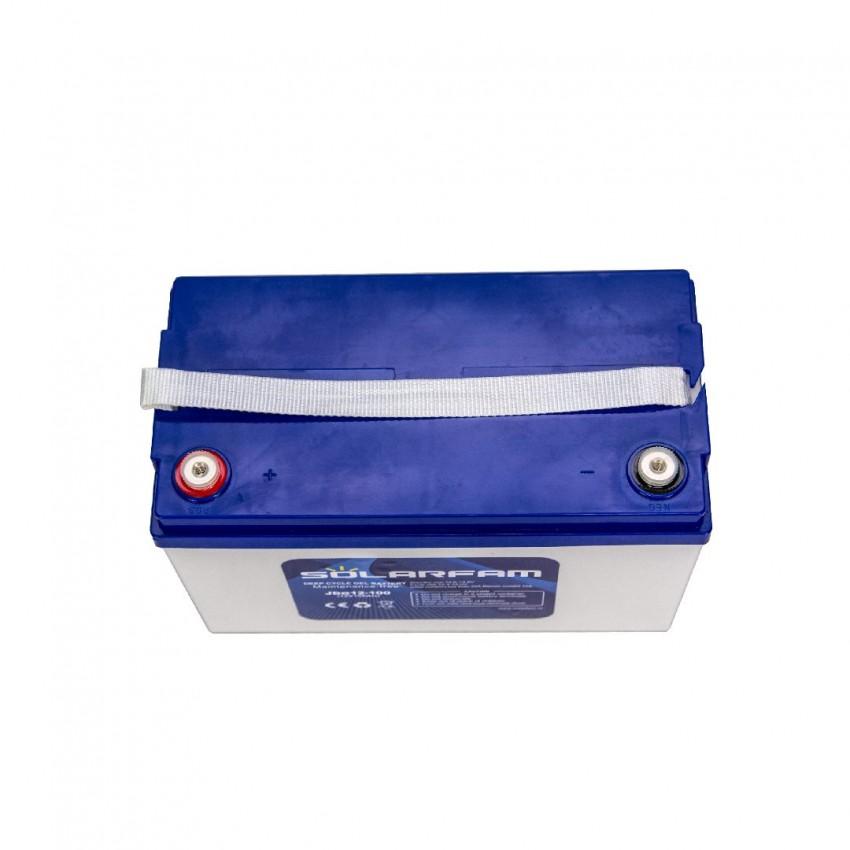 100 ah 12V Соларна Батерия / Акумулатор с дълбок цикъл