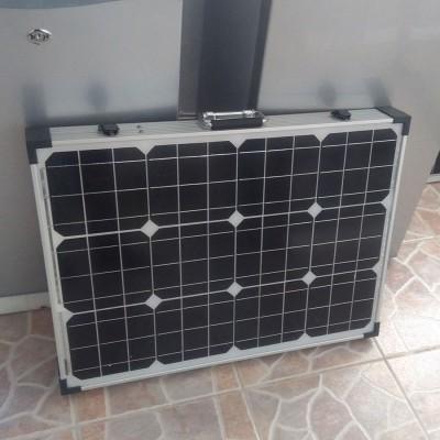 Сгъваем Монокристален соларен панел 100W