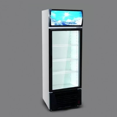 Соларни вертикални хладилни витрини.